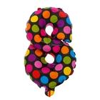 """Ball plastic 18"""" Figure 8, peas"""