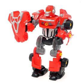 "Designer-machine ""Mega robot"", 3 in 1 light screwdriver, battery powered"