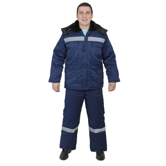 "Костюм ""Мастер-ТС"", размер 56-58, рост 170-176 см, цвет синий"