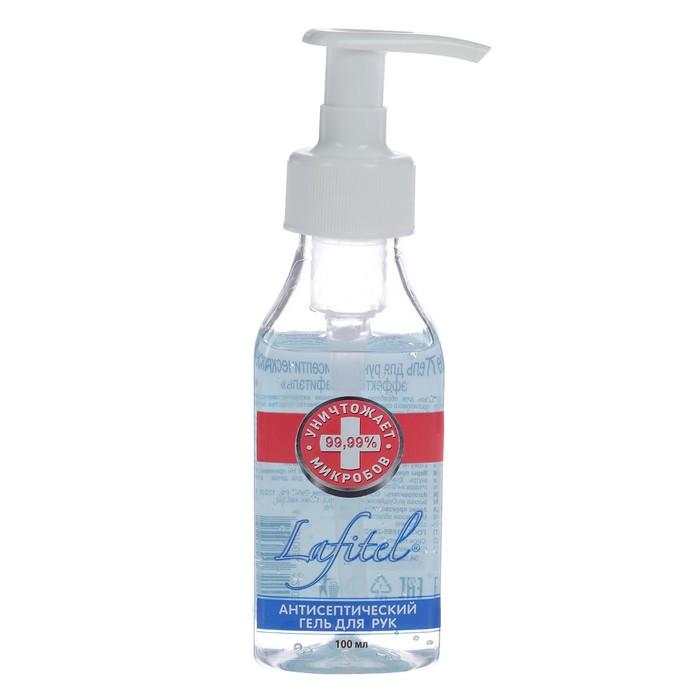 Lafitel Antiseptic Hand Gel, 100 ml.