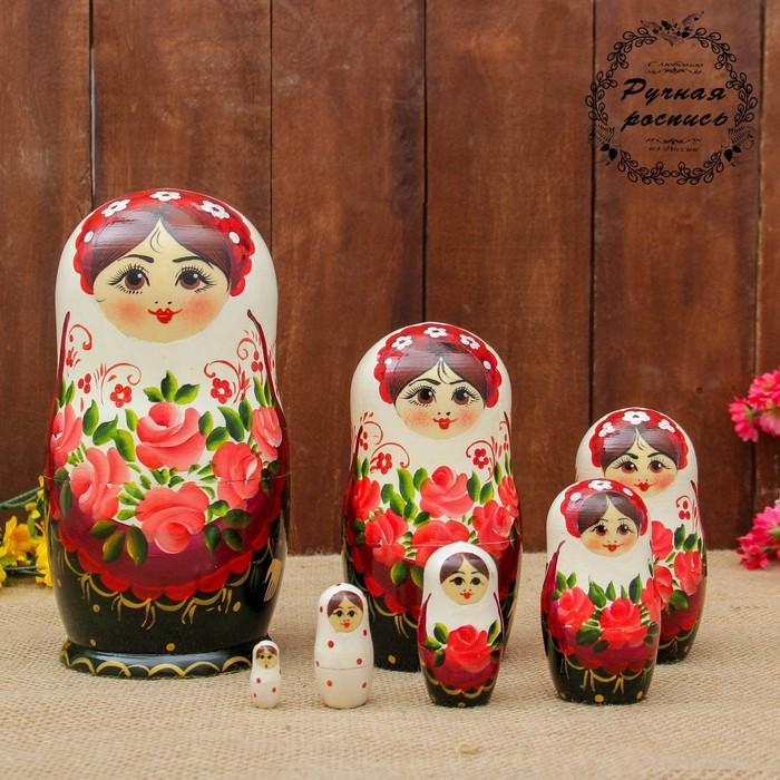 "Doll ""Rose"", a white handkerchief, 7 puppet 20 cm"