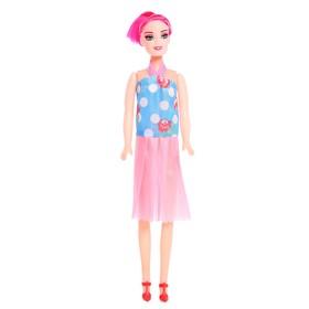 Кукла модель «Оленька» в вечернем платье, МИКС