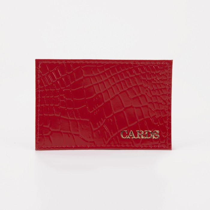Case for cards, color of SKAT red