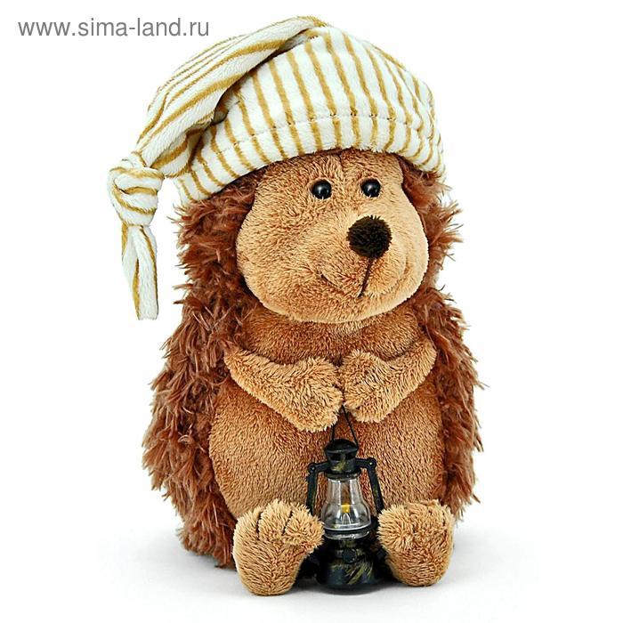 Мягкая игрушка «Ёжик Колюнчик в колпачке»