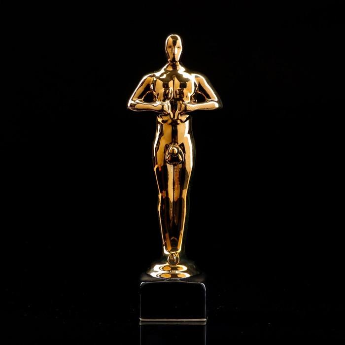 "Статуэтка ""Оскар-самец"", покрытие булат, 25 см"