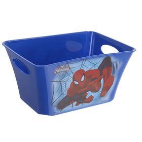 Корзина для игрушек 'Человек-Паук', 1,5 л, цвет синий Ош