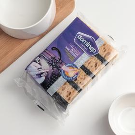 Набор губок кухонных Domingo «Бубблер», 9,6×6,4×3,3 см, 4 шт - фото 4645980