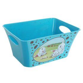 Корзина для игрушек '101 далматинец', 5 л, цвет бирюзовый Ош