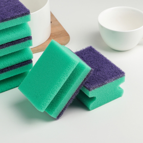 """Набор губок для посуды 9,4×7×4,7 см """"Хэнди"""", 5 шт, цвет МИКС"""