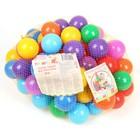 Шарики для сухого бассейна с рисунком, диаметр шара 7,5 см, набор 90 штук, разноцветные - фото 1003717
