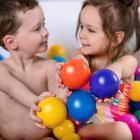 Шарики для сухого бассейна с рисунком, диаметр шара 7,5 см, набор 90 штук, разноцветные - фото 1003711
