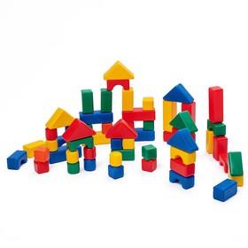 Строительный набор, 60 элементов, 4 х 4 см Ош