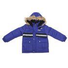 Куртка для мальчика, рост 140 см (72), цвет тёмно-синий
