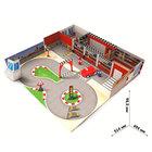 """Набор игровой """"Автоцентр"""" сборный 3D: аксессуары, 1 машина, инструкция"""