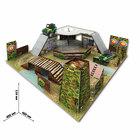"""Набор игровой """"Военная база"""" сборный 3D: аксессуары, танк, инструкция"""