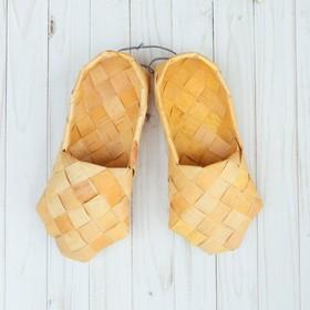 Sandals of birch bark, R-R 38-40