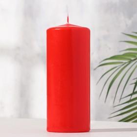 Свеча классическая 7х17 см, красная