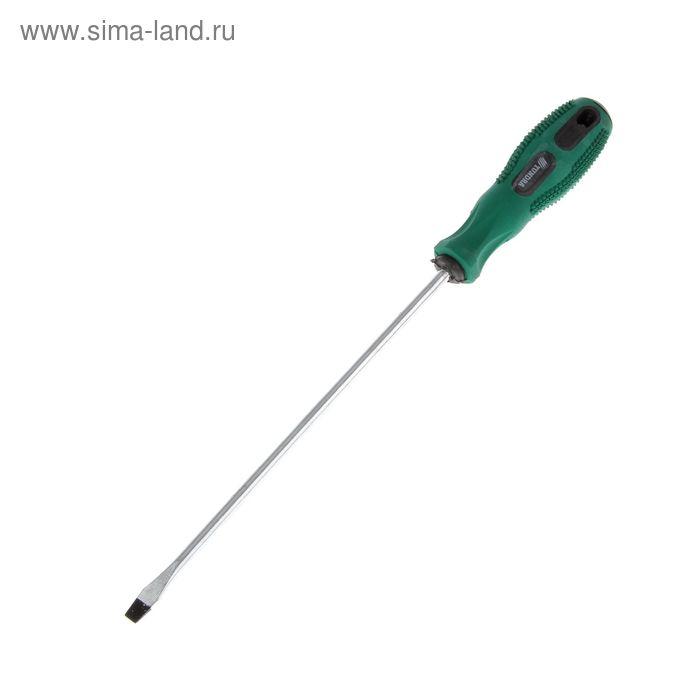 Отвертка шлицевая TUNDRA basic, SL 5.8х200 (-), двухкомпонентная рукоятка