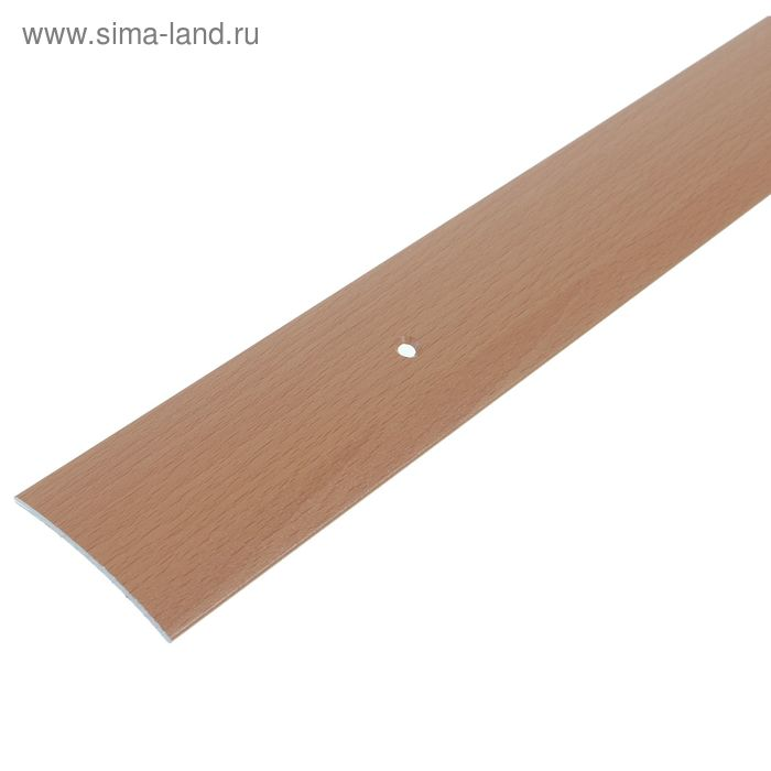 Порог одноуровневый 45 мм (90) бук