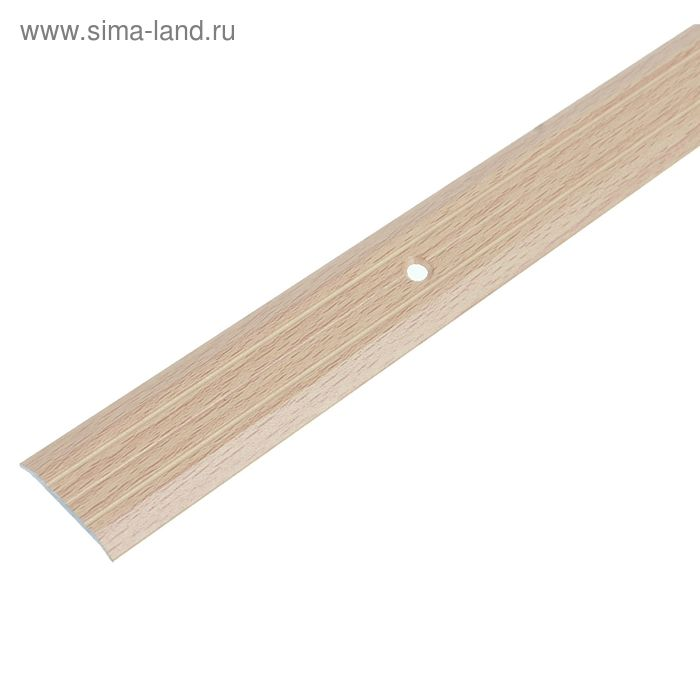 Порог одноуровневый 25 мм (90) бук светлый