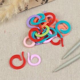 Набор маркеров для петель, 20 шт (10 маленьких, 10 больших), цвет МИКС