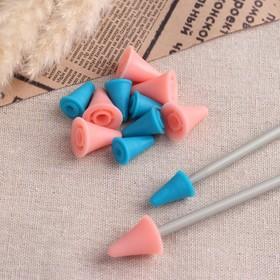 Набор заглушек для спиц, d = 1,8 / 1,3 см, 12 шт, цвет разноцветный
