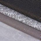 Набор ткани для пэчворка(3 шт.) «Чёрно-белый», 30 х 40 см