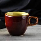 """Чашка """"Одесса"""" 200 мл, день-ночь, лимон, керамика"""