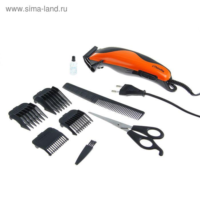 Машинка для стрижки волос Boulle BCH-210, 4 насадки, питание 220V