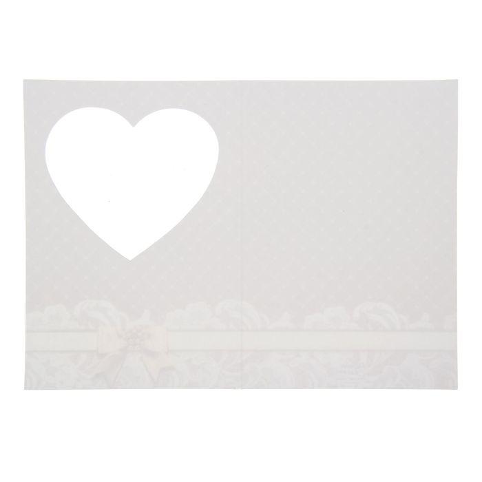 Свадебны открытки заготовки