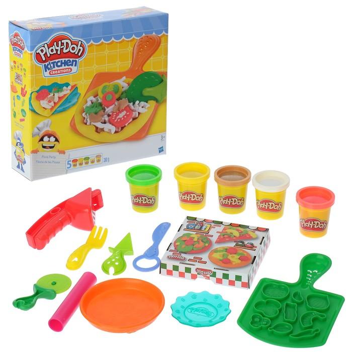 """Игровой набор для лепки Play-doh """"Пицца"""""""