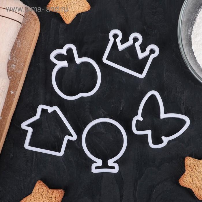 Набор форм для печенья, 6 шт, в ассортименте МИКС