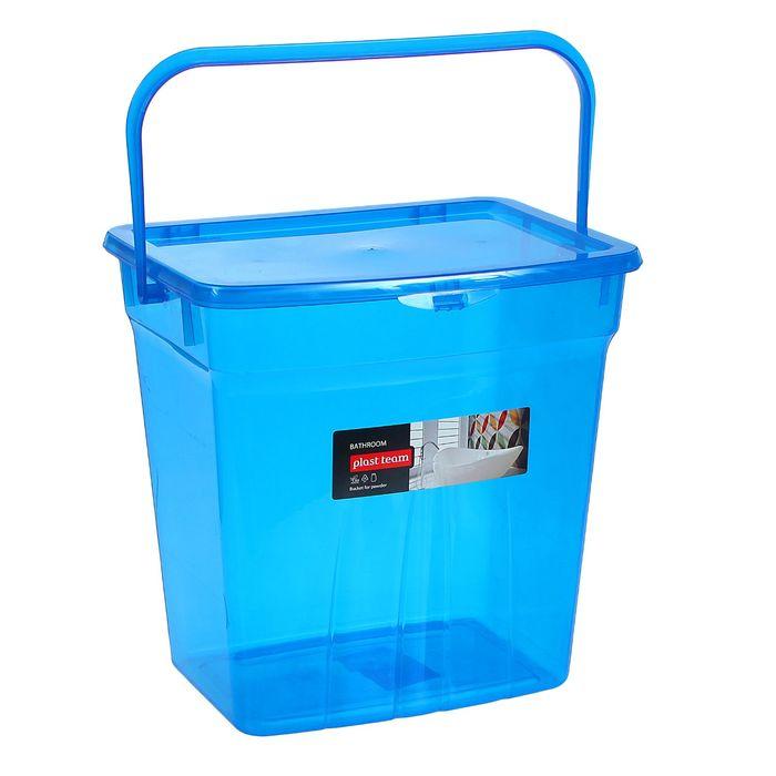 Ведро для стирального порошка 10 л, цвет МИКС