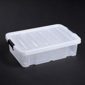 Контейнер для хранения с крышкой Basic Type, 30 л, 59,5×39,5×17,5 см