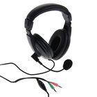 Наушники полноразмерные Dialog M-750HV, компьютерные, микрофон,регулировка громкости,чёрные