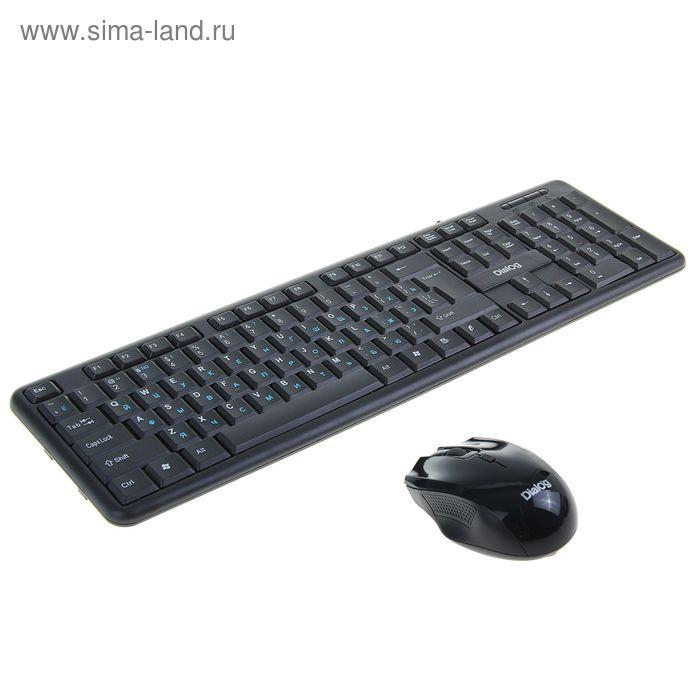 Беспроводной набор Dialog KMROP-0204U, клавиатура + мышь, 2.4гГц, USB