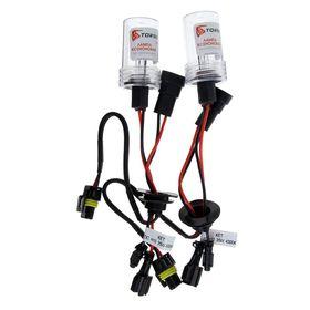 Комплект ксеноновых ламп TORSO H10, для блоков DC, 12 В, 4300 К, 2 шт.