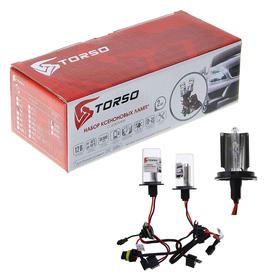 Kit xenon bulbs TORSO H4S-L, blocks DC, 12 V, 4,300 K, 2 PCs.