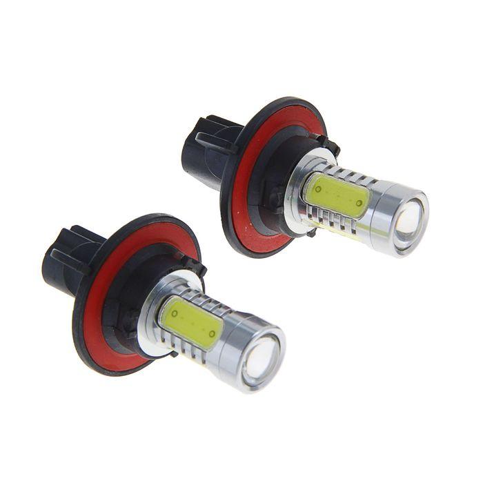 Комплект светодиодных ламп TORSO H13, 12 В, 7.5 Вт, 2 шт., 5 LED-COB, свет белый