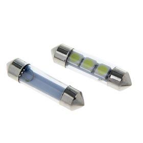 Комплект светодиодных ламп TORSO C5W, 36 мм, 12 В, 3 SMD-5050, под стеклом, 2 шт.