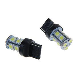 Комплект светодиодных ламп TORSO Т20 W21/5W, 12 В, 13 SMD-5050, 2 шт., свет белый