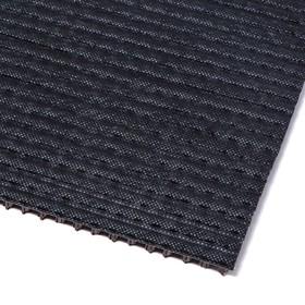 Покрытие ковровое щетинистое «Травка», 45×60 см, цвет тёмный шоколад - фото 4657203