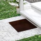 Покрытие ковровое щетинистое «Травка», 45×60 см, цвет тёмный шоколад - фото 4657199
