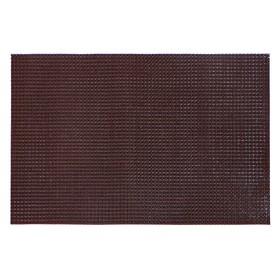 Покрытие ковровое щетинистое «Травка», 60×90 см, цвет тёмный шоколад - фото 4657206