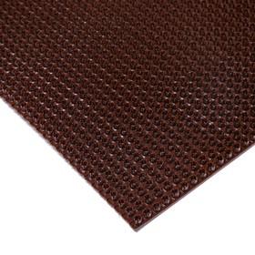 Покрытие ковровое щетинистое «Травка», 60×90 см, цвет тёмный шоколад - фото 4657207