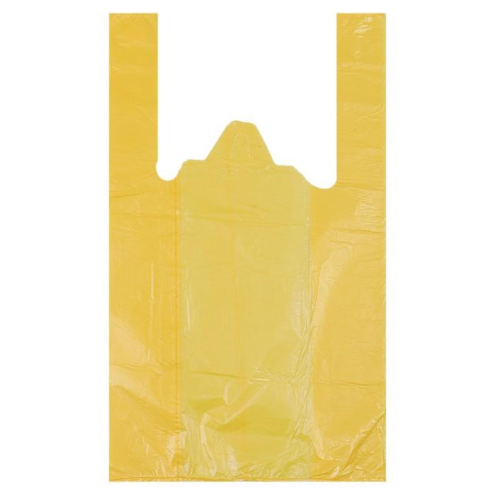 """Пакет """"Солнечный"""", полиэтиленовый, майка, 25 x 45 см, 9 мкм"""