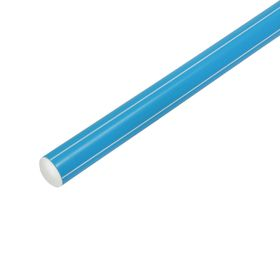 Палка гимнастическая 90 см, цвет голубой Ош