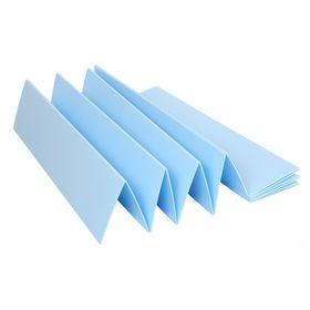 Подложка-гармошка под ламинат, синяя, 5 мм/1050х250х5/5,25 м2 Ош
