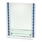 """Зеркало в ванную комнату 60×45 см """"Ассоona А615"""", 1 полка"""