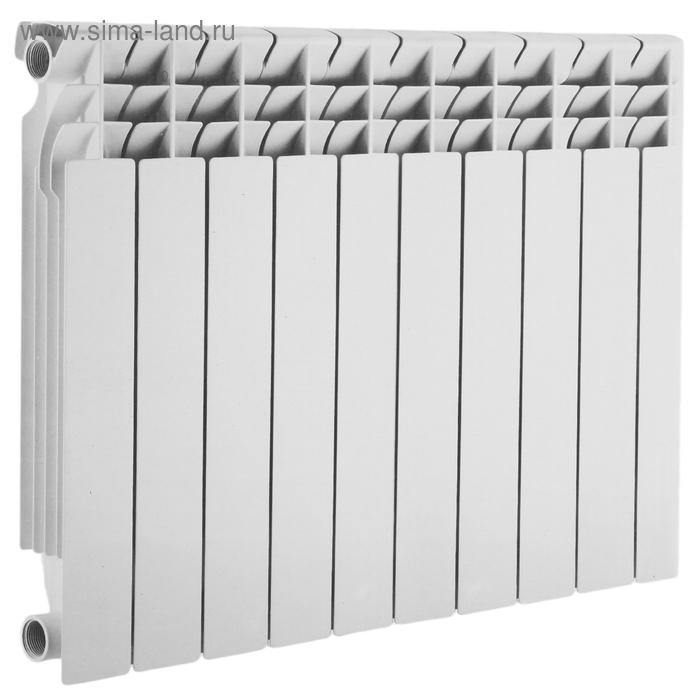 Радиатор алюминиевый Accoona A805010-1A, 10 секций